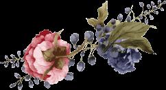 Dekorative Blumen